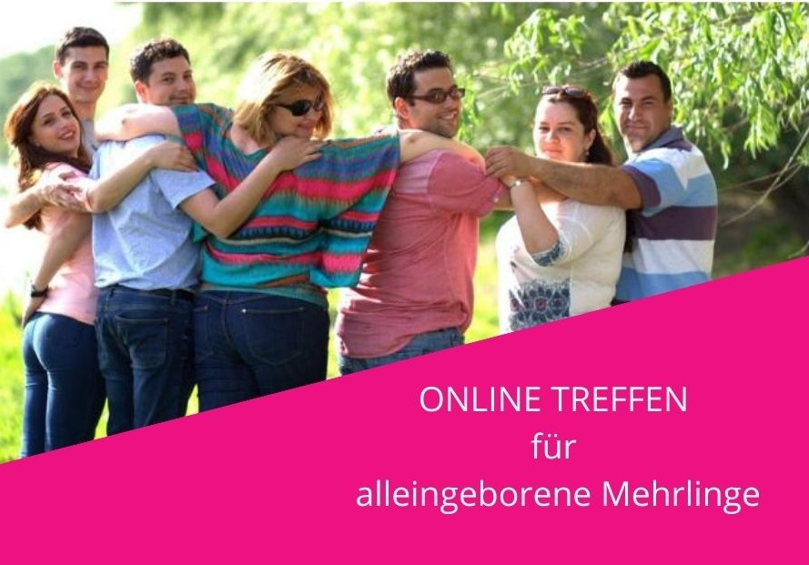 Onlinetreffen für alleingeborene Mehrlinge